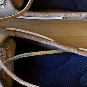 Sperry Shoes - Sperry Top-Sider Woman's Sand Gold Boat Shoes